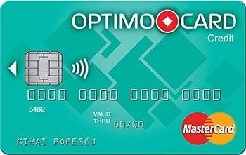 plata in maxim 36 de rate prin Optimo Card
