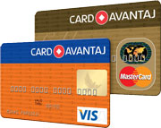 plata in 10 rate prin Card Avantaj